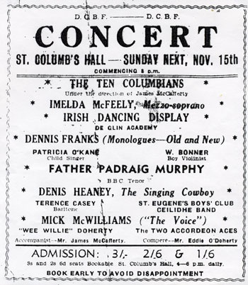 The Ten Columbians in Concert