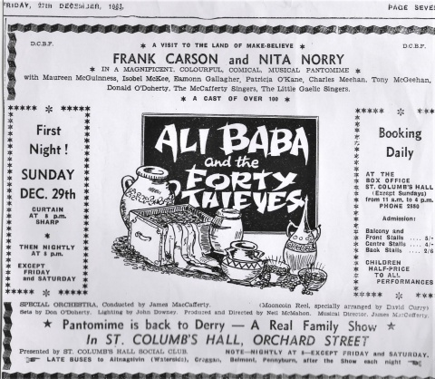 Advert for Ali Baba 1963