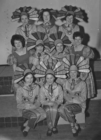 Speciality Dancers 1964 Wizard of Oz