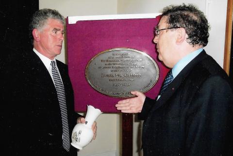 Pat MacCafferty with John Hume