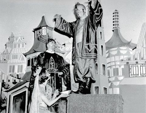 St Columbs Hall Pantos 1971
