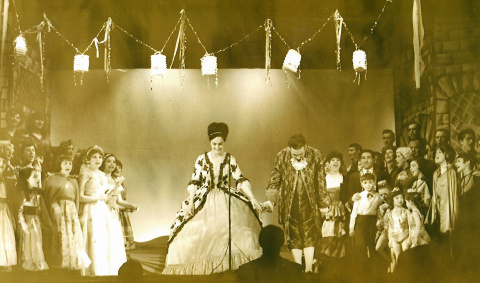 St Columbs Hall Pantos 1963