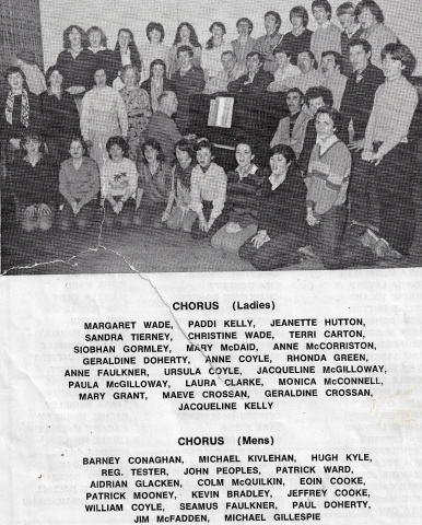 St Columbs Hall Pantos 1982