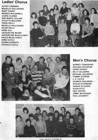 St Columbs Hall Pantos 1983