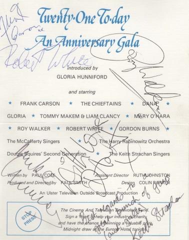 UTVs 21st Celebration Program (1980)