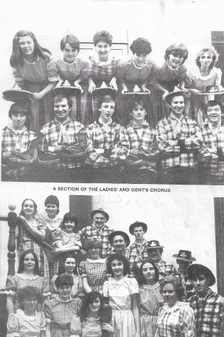 St Columbs Hall Pantos 1984