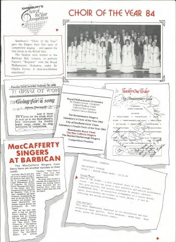 MacCafferty Singers
