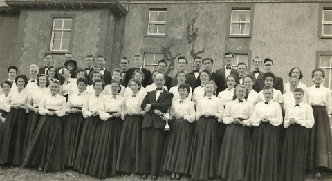 St Orans Mixed Voice Choir 1957
