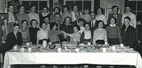Homecoming Party 1956