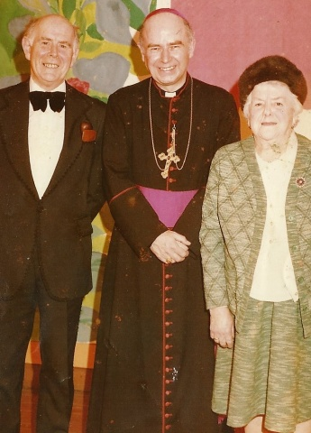 Bishop Daly's Ordination (with James and his Mother)