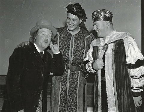 Eamonn Gallagher, Charlie Meehan & Charlie Gallagher in Wizard of Oz 1964