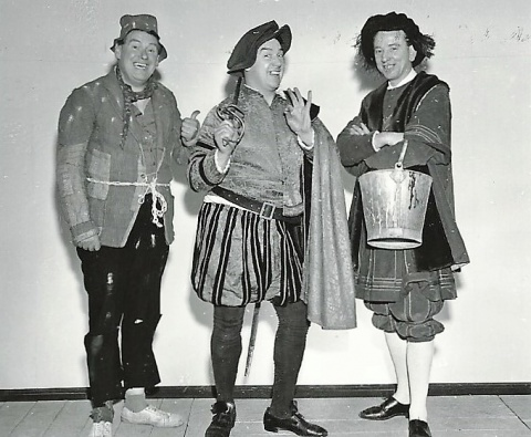 Tony McGeehan, Frank Carson & Don O'Doherty in Wizard of Oz 1964