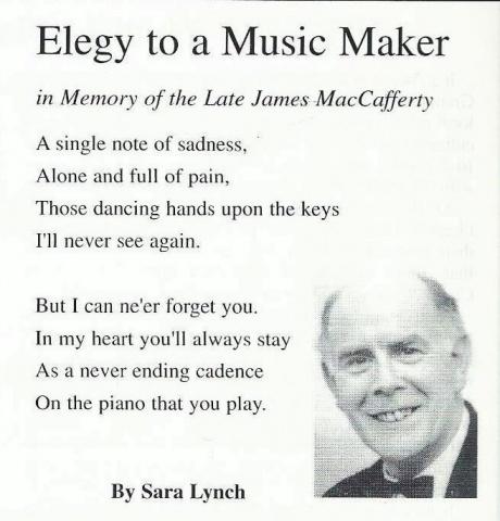 Poem written by Sarah Lynch (former pupil)