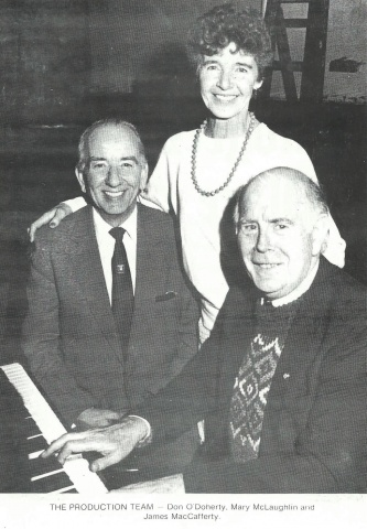 Don O'Doherty, Mary McLaughlin & James MacCafferty
