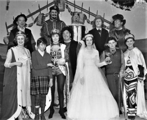 The cast of 1964 Wizard of Oz